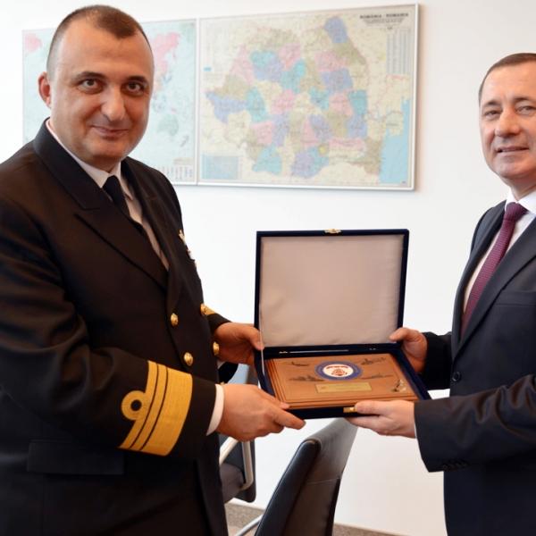 Şeful Gărzii de Coastă din Turcia, în vizită la Poliţia de Frontieră Română