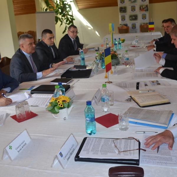 Șefii Poliţiilor de Frontieră din România şi Ucraina au analizat eficienţa acţiunilor la frontiera comună