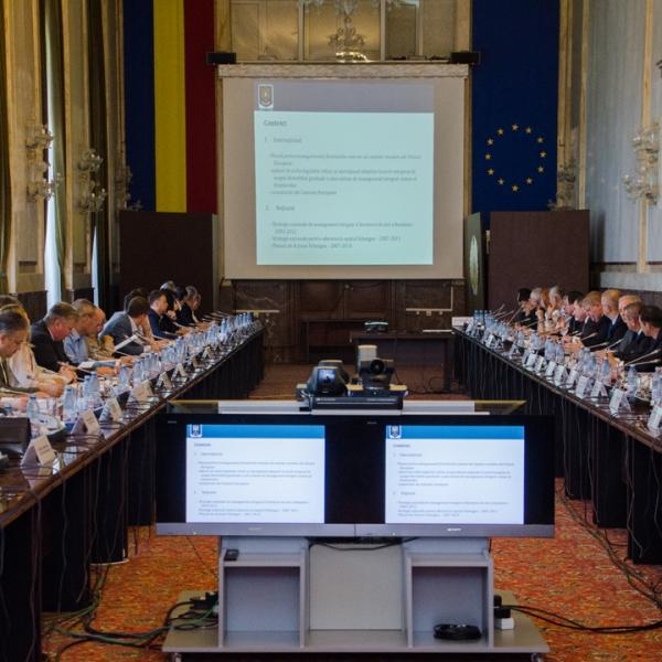Proiectul Strategiei pentru asigurarea securității frontierei de stat a României în perioada 2017-2020 a fost finalizat