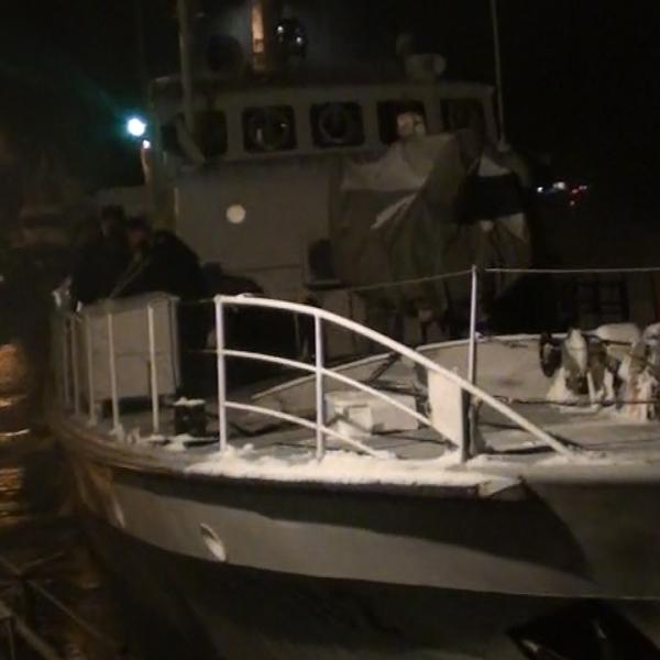 Nava MAI 1102 a Poliţiei de Frontieră Române va supraveghea, timp de 4 luni, frontierele Europei din Marea Egee