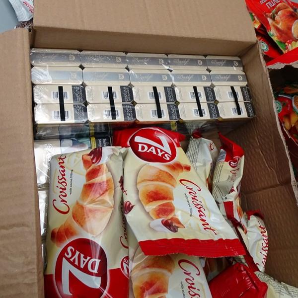 1.500 pachete țigări fără documente legale, confiscate de poliţiştii de frontieră giurgiuveni