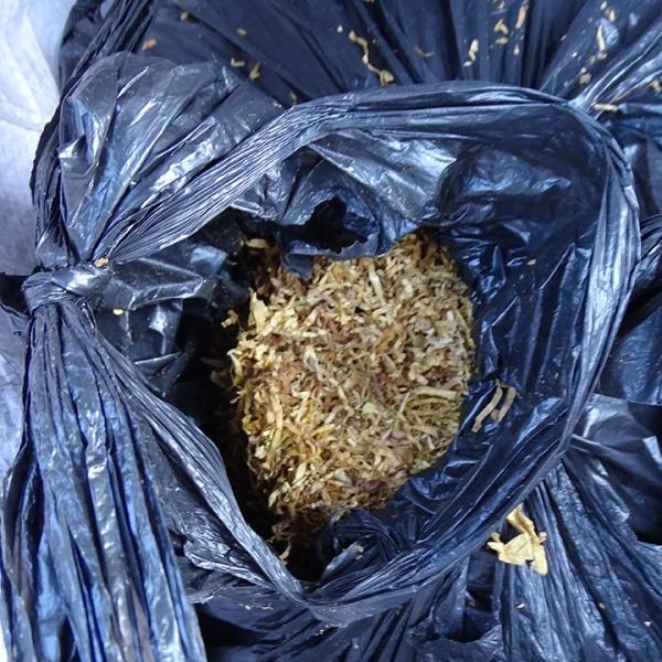 Tutun vrac descoperit în portbagajul unei mașini la P.T.F. Calafat