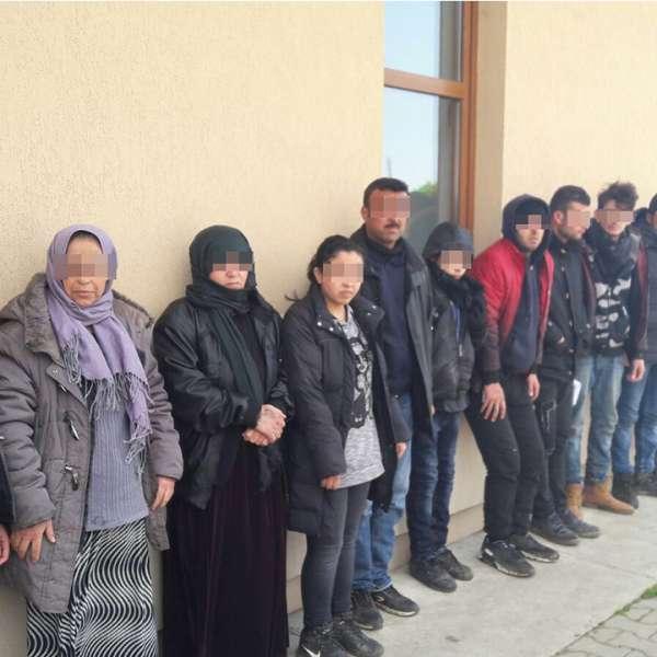 17  cetățeni din Siria şi Irak, opriţi la frontiera cu Serbia
