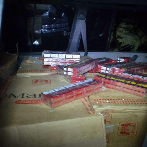 Țigări de contrabandă în valoare de peste 78.000 lei, confiscate la frontiera de nord