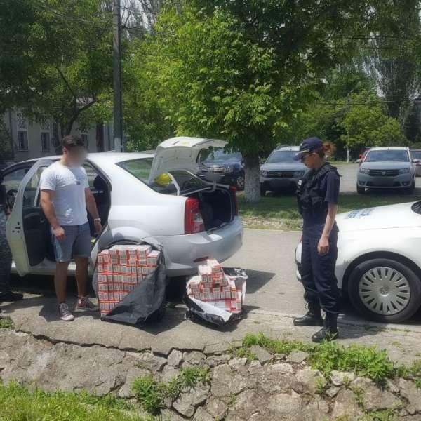 Aproximativ 1.300 pachete cu ţigări de contrabandă, descoperite de polițiștii de frontieră constănțeni
