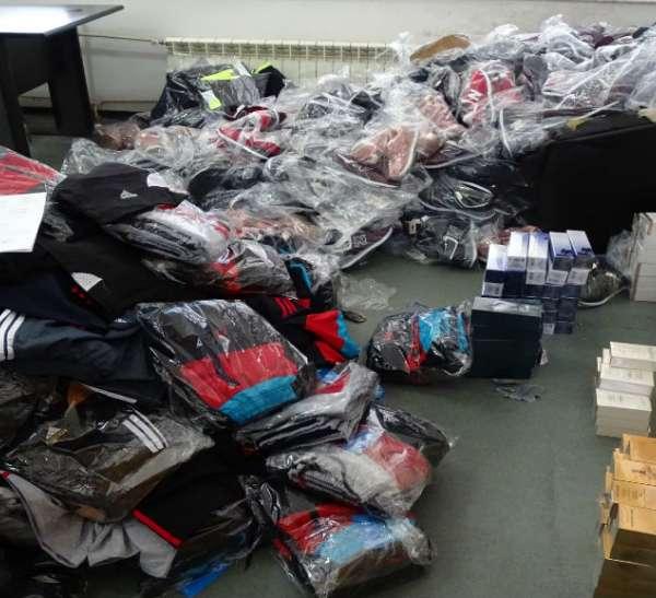 Bunuri susceptibile a fi contrafăcute,  confiscate la P.T.F. Giurgiu