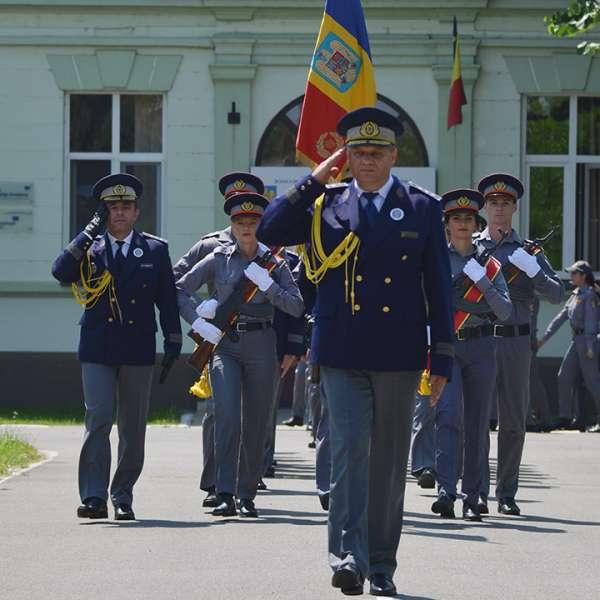 Şcoala de Pregătire a Agenţilor Poliţiei de Frontieră Avram Iancu Oradeaa împlinit 25 de ani de existenţă