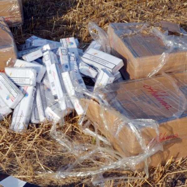 Reţea infracţională care transporta ţigări peste frontieră cu deltaplanul, destructurată de poliţiştii de frontieră vasluieni