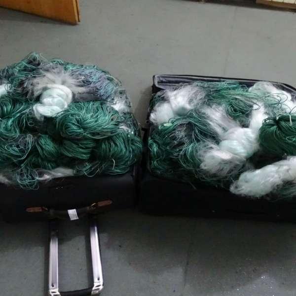 Plase monofilament, confiscate de la un cetăţean bulgar