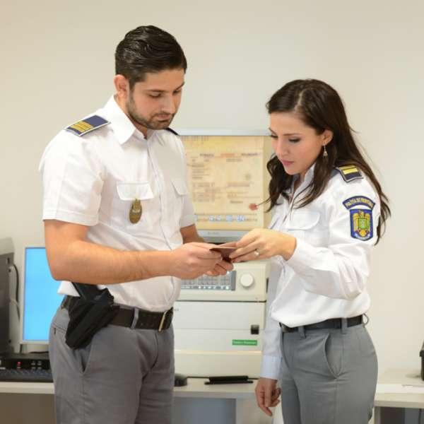 Cetățean turc cu document falsificat, depistat la P.T.F. Giurgiu
