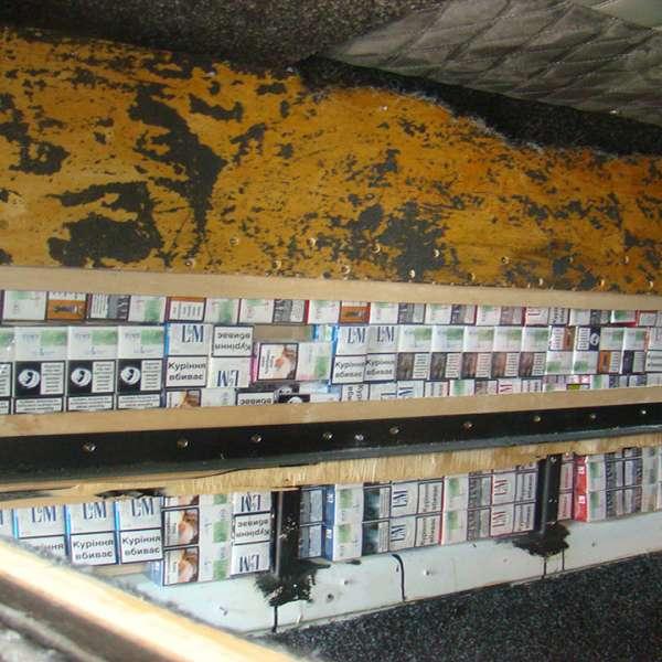Peste 7.500 pachete țigări de contrabandă, confiscate de polițiștii de frontieră