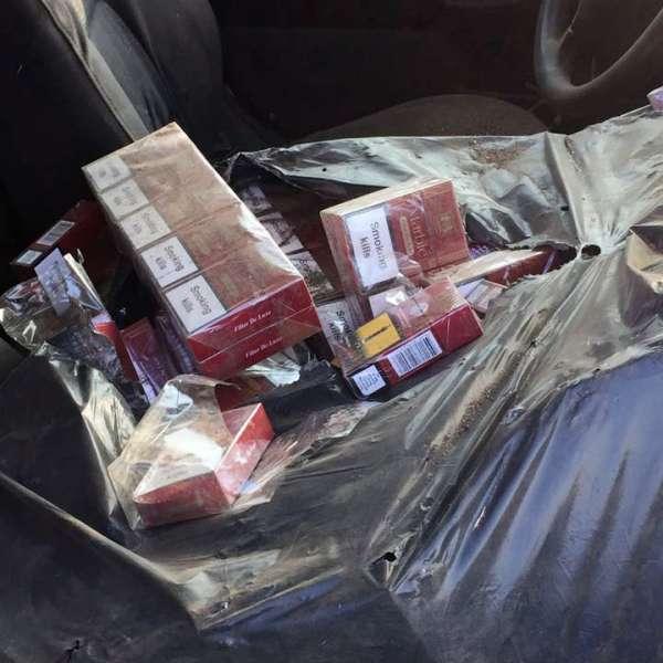 Aproximativ 3.000 pachete cu ţigări de contrabandă,confiscate de poliţiştii de frontieră doljeni