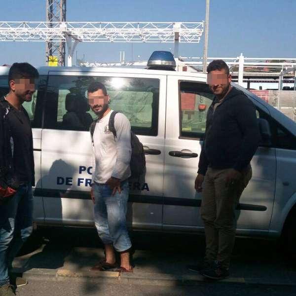Trei cetățeni din Siria, opriți la frontieră din drumul ilegal spre Spațiul Schengen
