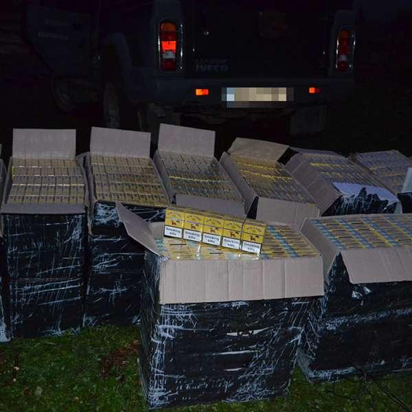 Țigări confiscate  în urma a cinci percheziții