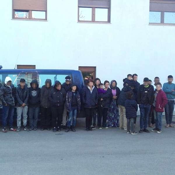 28 cetățeni din Afganistan, India, Iran și Irak, opriţi la frontiera cu Ungaria