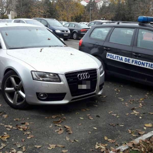 Autoturism furat din Italia, descoperit la Constanţa