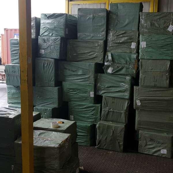 Bunuri  nedeclarate  în valoare de aproximativ 220.000 lei, confiscate în Portul Constanţa Sud Agigea