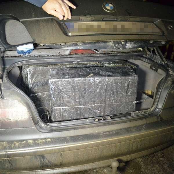 Peste 11.000 pachete cu țigări de contrabandă, confiscate de polițiștii de frontieră