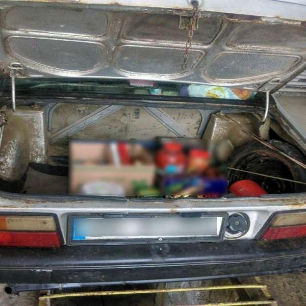 Ţigări de contrabandă, ascunse in rezervorul unui autoturism, descoperite la frontieră