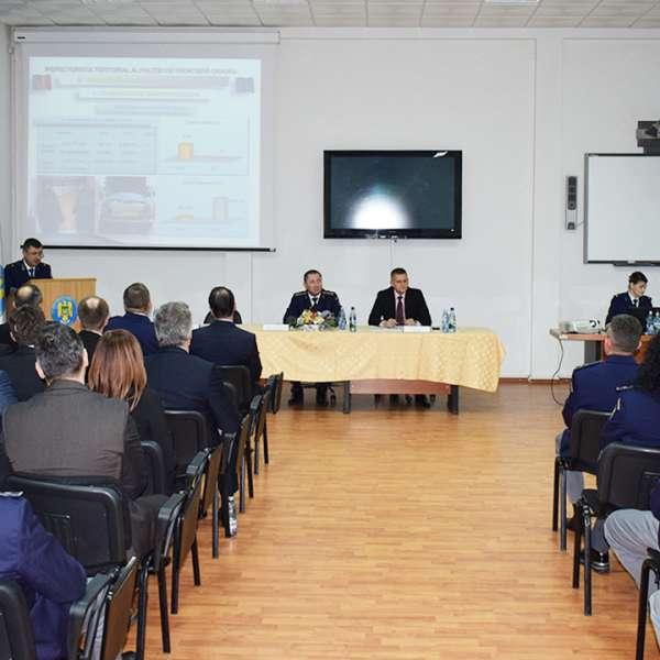 Analiza activităţilor desfăşurate de către Inspectoratul Teritorial al Poliţiei de Frontieră Oradea  în anul  2017
