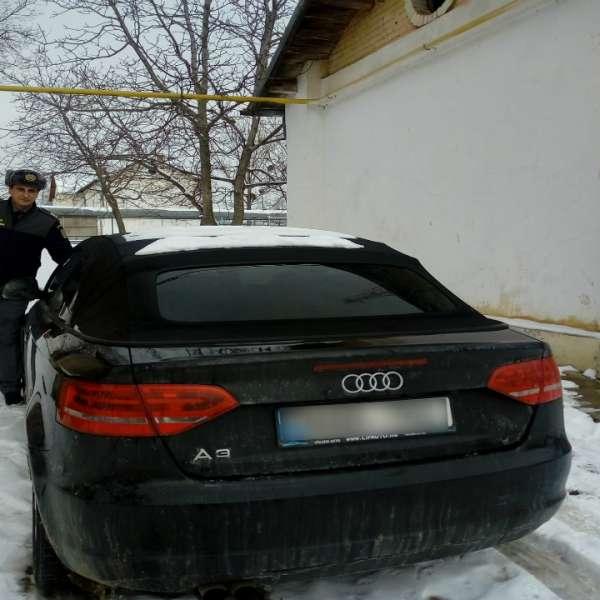 Audi A3, căutat de autoritățile din Spania, depistat la P.T.F. Albiţa