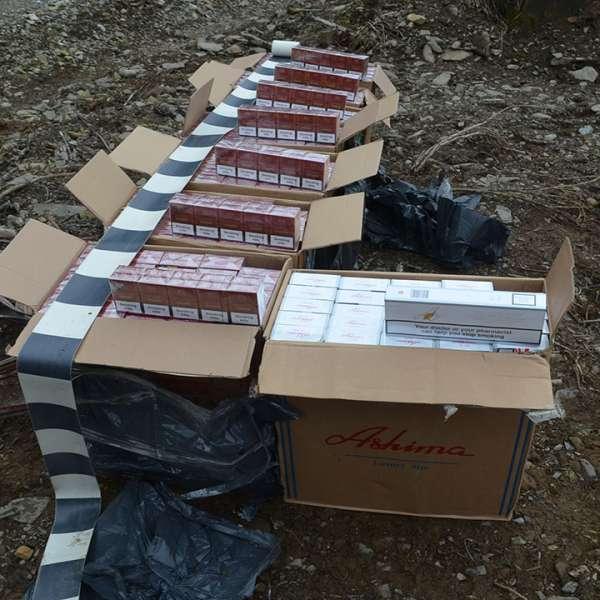 Peste 4.000 pachete ţigări confiscate la frontiera de nord