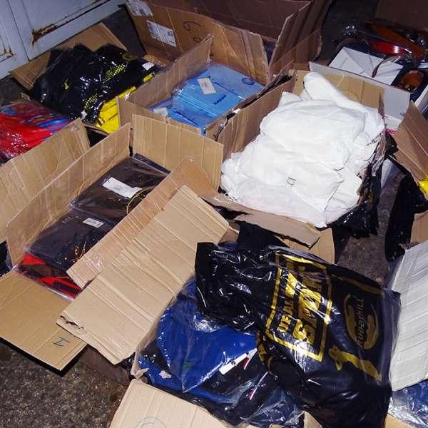 Aproximativ 1.200 de bunuri susceptibile a fi contrafăcute, confiscate la P.T.F. Calafat