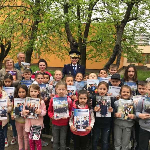 Şcoala altfel       la Inspectoratul Teritorial al Poliţiei de Frontieră Oradea
