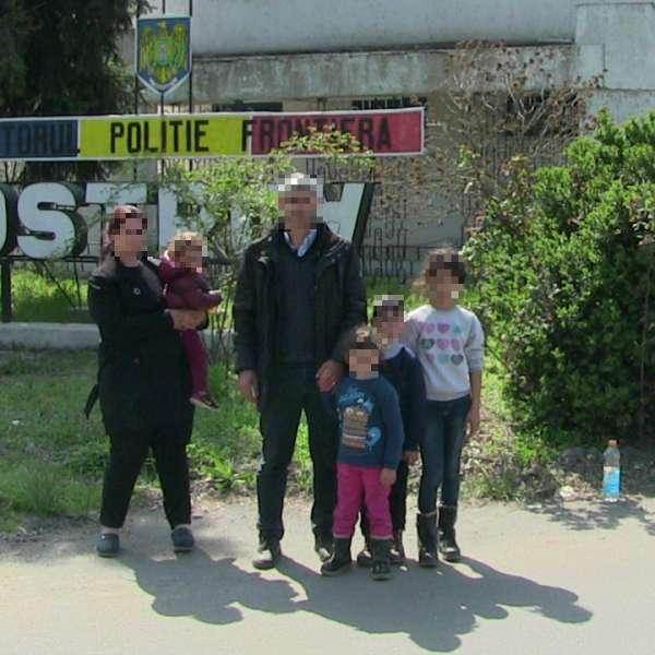 Cinci cetățeni sirieni, călăuziți de un cetățean turc, depistați la frontiera cu Bulgaria
