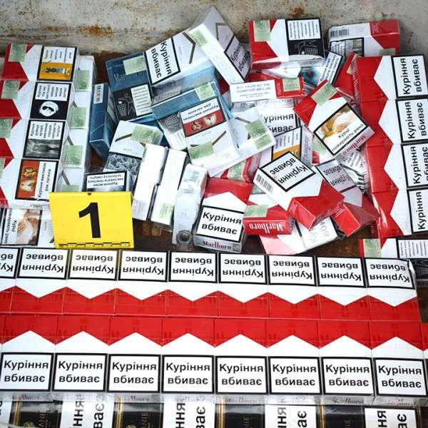 Peste 50.000 de ţigarete, depistate ascunse într-un autoturism la P.T.F. Borș