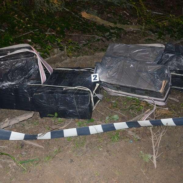 Aproximativ 55.000 de pachete cu ţigări de contrabanda confiscate la frontiera cu Ucraina