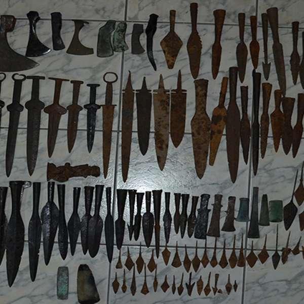 Obiecte metalice vechi, susceptibile a fi de patrimoniu, descoperite în P.T.F. Petea