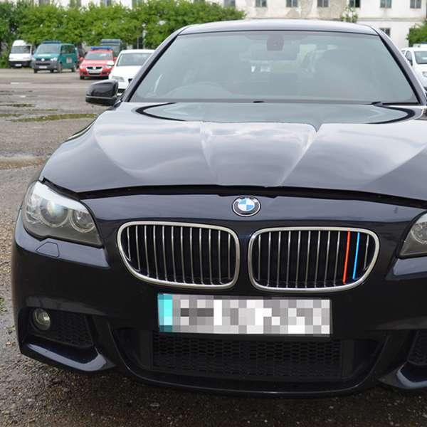 Autoturism marca BMW, căutat de autoritățile din Marea Britanie, descoperit în Sighetu Marmației
