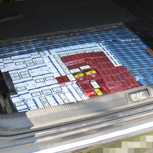 Cetățean român cercetat pentru contrabandă și 19.150 de pachete cu țigări confiscate la frontiera de nord