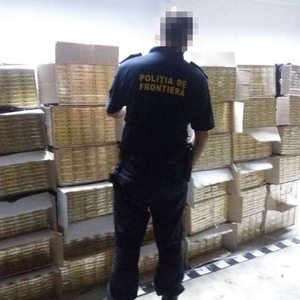 21.000 de pachete cu țigări, confiscate la frontiera de nord