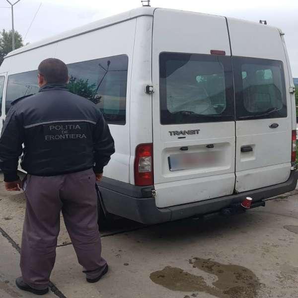Auto radiat în Belgia oprit la frontiera cu R. Moldova