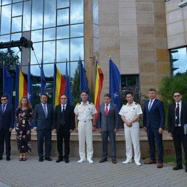 Delegație a Gărzii de Coastă din Japonia, în vizită la Poliția de Frontieră Română