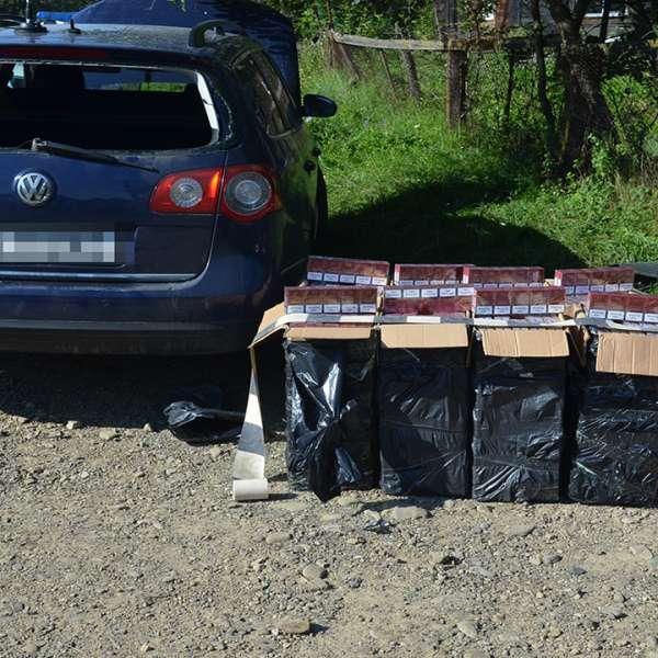 Peste 14.000 pachete țigări confiscate la frontiera de nord