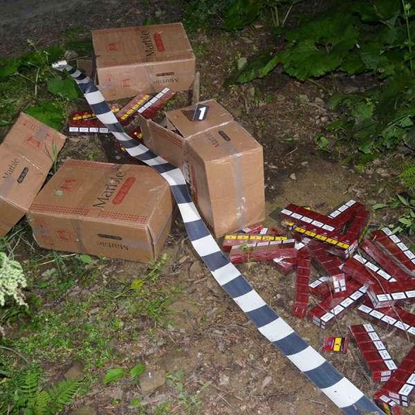Peste 12.000 pachete ţigări confiscate la frontiera de nord
