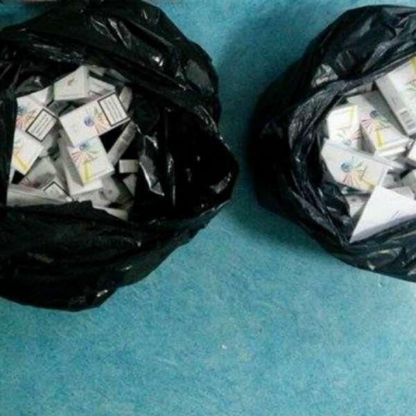 Țigări de contrabandă confiscate de polițiștii de frontieră severineni
