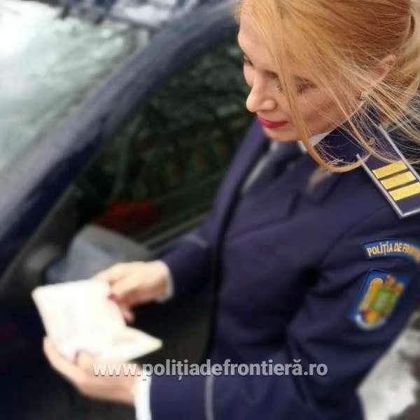 Cetățean albanez  prins în flagrant în timp ce încerca să ofere 200 de euro mită