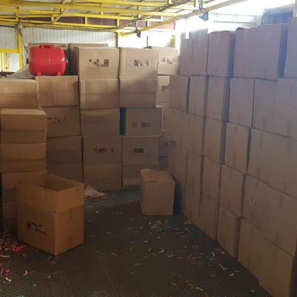 Sute de componente hidro nedeclarate, confiscate în Portul Constanţa Sud Agigea