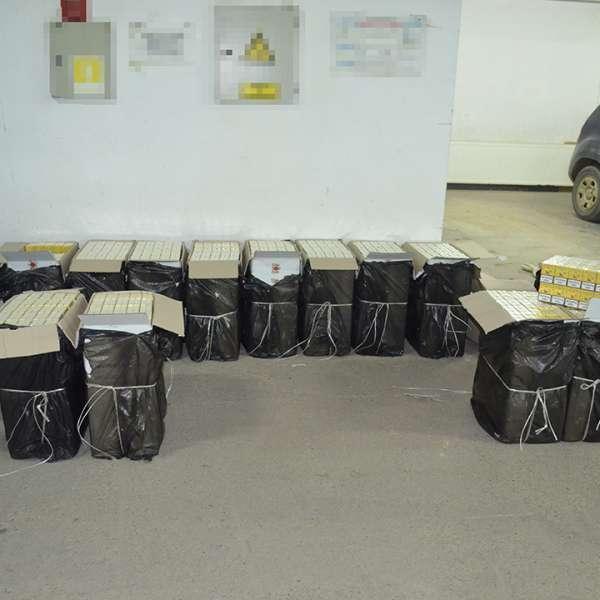 Peste 24.000 pachete țigări confiscate la frontiera de nord