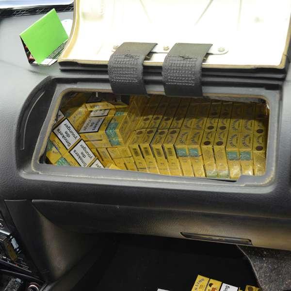 Peste 7.500 pachete țigări confiscate la frontiera de nord