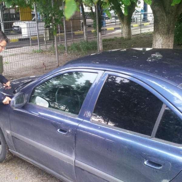 Autoturism căutat de autoritățile din Italia, descoperit în Albița