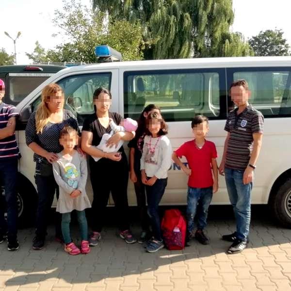 Nouă cetățeni irakieni opriţi de poliţiştii de frontierătimişeni din drumul spre vestul Europei