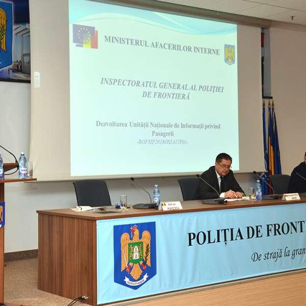 Dezvoltarea Unităţii Naţionale de Informații privind Pasagerii