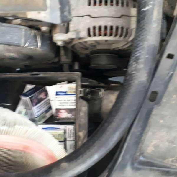 Aproximativ 10.000 de ţigarete de contrabandă descoperite la frontiera de est