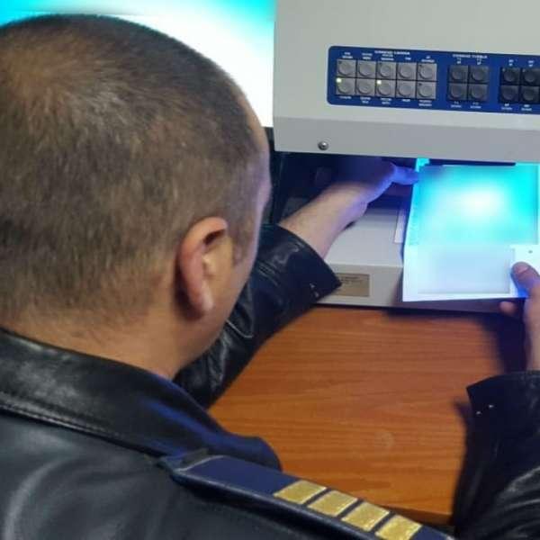 Certificat care atestă inspecția tehnică periodică, fals