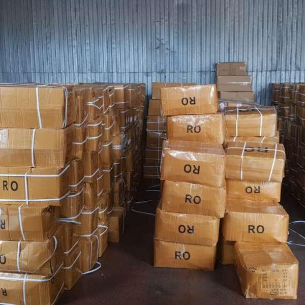 Încălţăminte şi articole vestimentare susceptibile a fi contrafăcute, confiscate în Portul Constanţa Sud Agigea